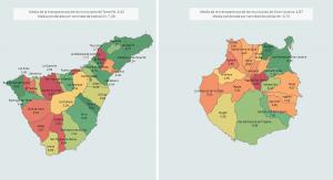 Mapa De Tenerife Municipios.Avance De La Transparencia Municipal En 2017 En El Itcanarias Comisionado De Transparencia