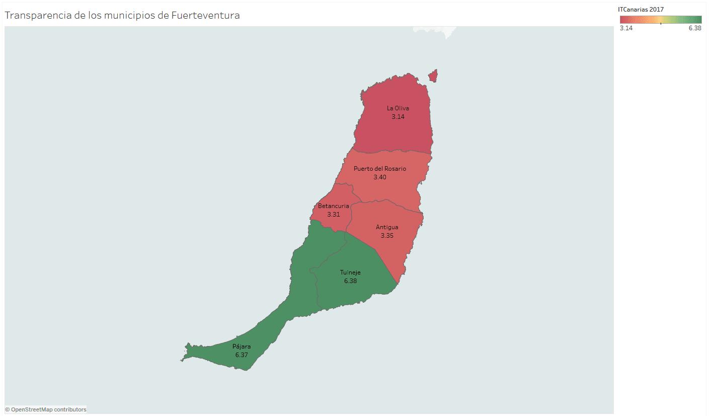 Mapa De Fuerteventura Municipios.Fuerteventura Tuineje Y Pajara Unicos Municipios Majoreros